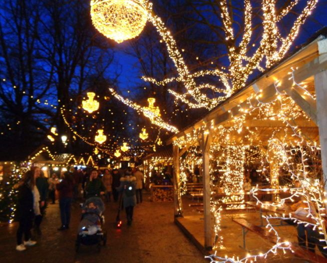 Du 6 au 31 décembre 2018 : Marché de Noël au Parc des Bastions