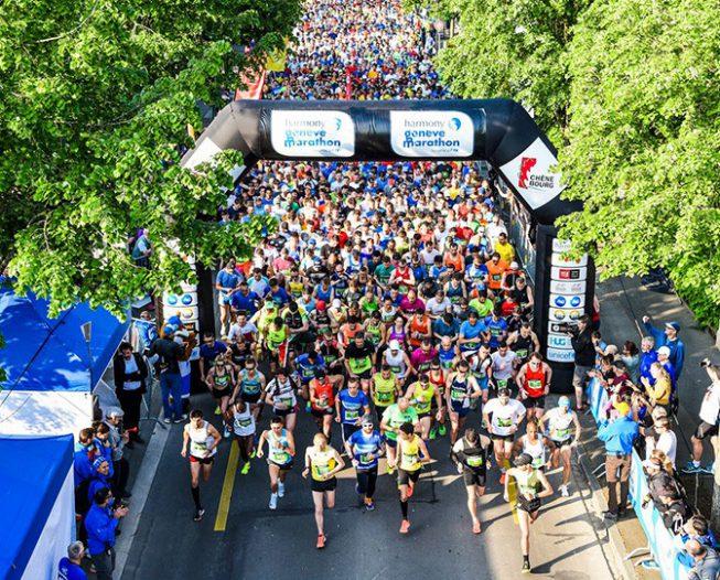 Harmony, le marathon de Genève pour l'UNICEF
