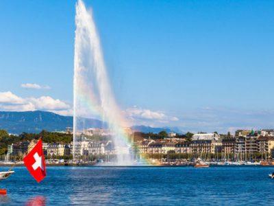Family and summer escape in Geneva