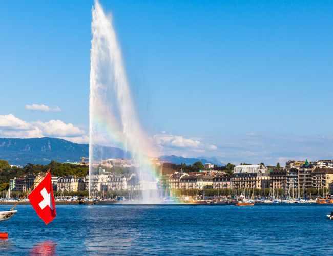 Family and summer escape in Geneva