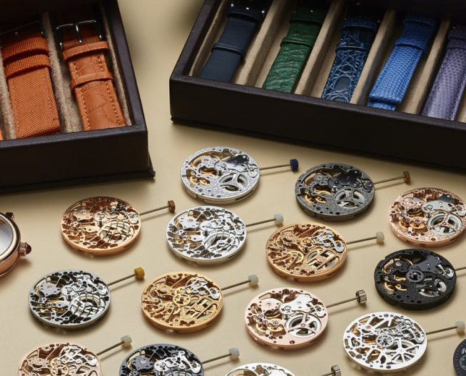 Initiation into the art of luxurious watch making