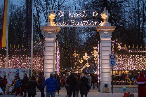 Marché de Noël aux Bastions