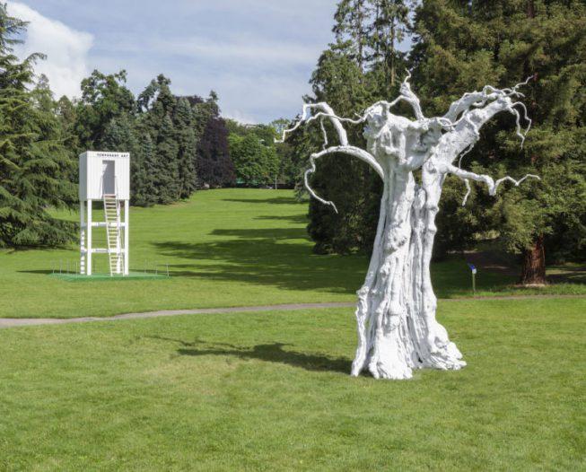 Sculpture garden - Geneva Biennale