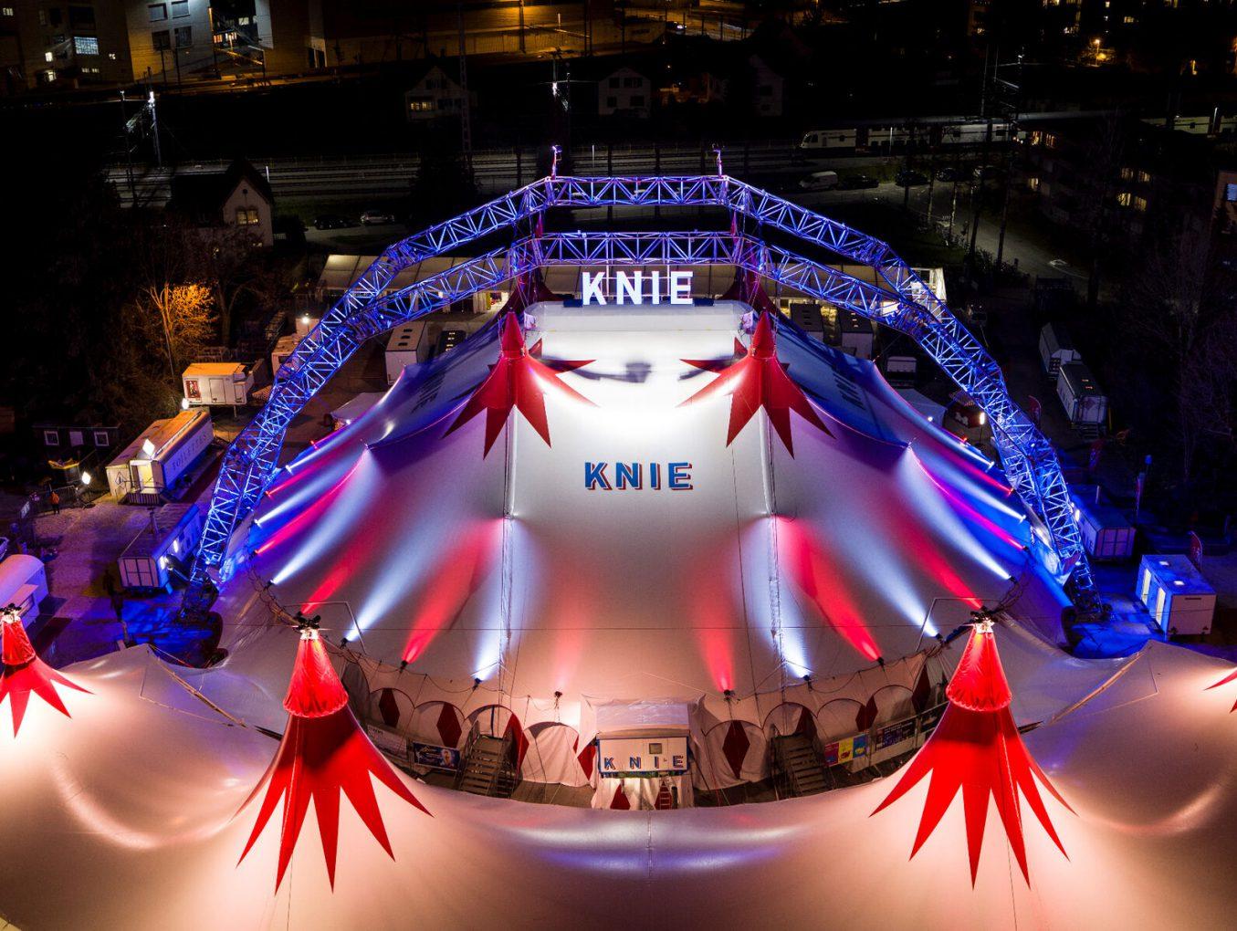 Le cirque Knie de retour à Genève