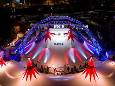 The Knie circus come back to Geneva